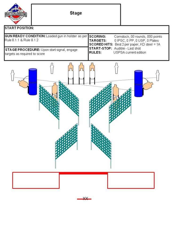 Ontelaunee - WaltInPA USPSA Stage 024 - Rough Draft